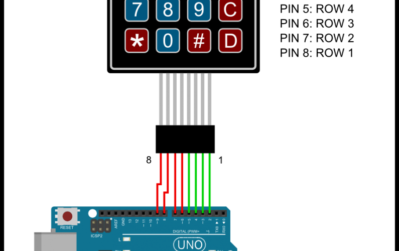matrix_keypad Arduino