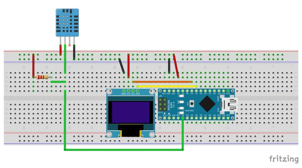 Arduino รับค่าอุณหภูมิและความชื้นจาก Dh11 Arduino Projects