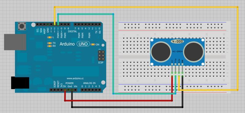 Arduino HC-SR04