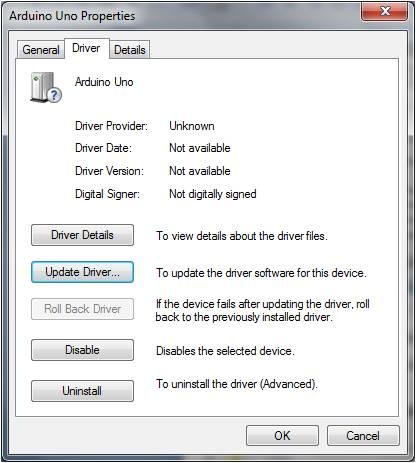 การติดตั้ง Driver Arduino 3