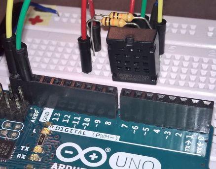 การใช้am2320 Arduino 1