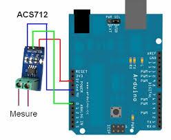 การต่อ Current Sensor ACS712